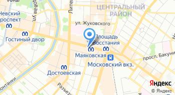Интернет-магазин Bliss Nail на карте
