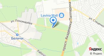Центр кузовного ремонта Lucky Star на карте