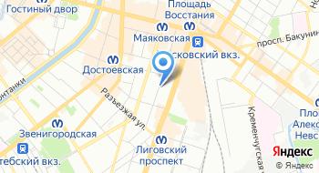 Фирма ПитерТехнология на карте