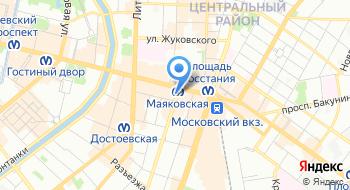 ВСТЕК на карте