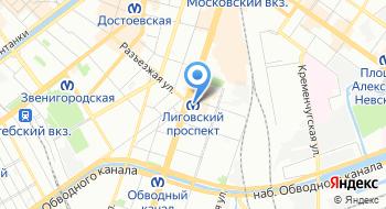 Петербургский Метрополитен Служба материально-технического снабжения на карте