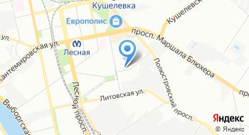 Невский Машиностроитель на карте
