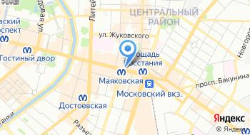 Городской туристический центр на карте