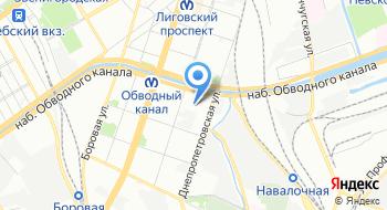Северо-Западный Удостоверяющий центр на карте