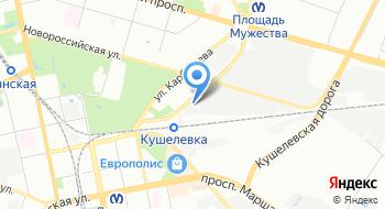 Производственная фирма Унис на карте