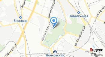 Волковское православное кладбище на карте