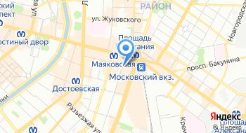 Магазин-бар Хромой Синий Кот на карте