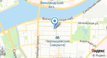 Отдел военного комиссариата города Санкт-Петербурга по Центральному району на карте