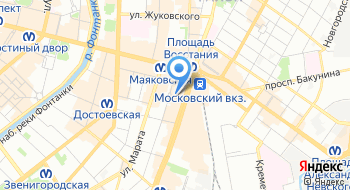 Центр обмена СКВ Лиговский на карте