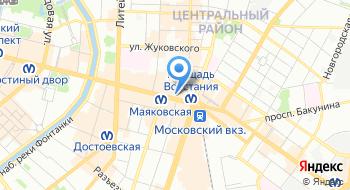 Курьерская служба Express Dostavka Msk на карте