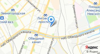 Интерпром-СПб на карте