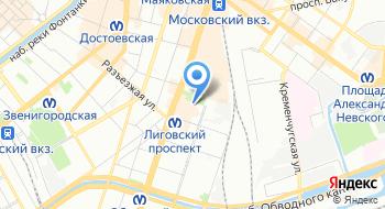 Санкт-Петербургский техникум библиотечных и информационных технологий на карте
