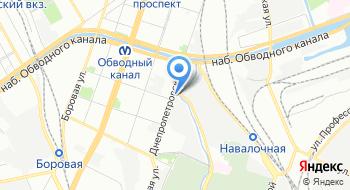 Стис на карте