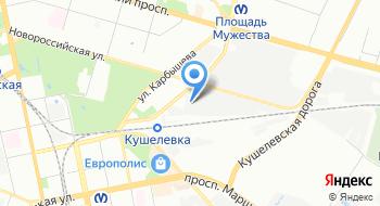 Мастер СПБ на карте