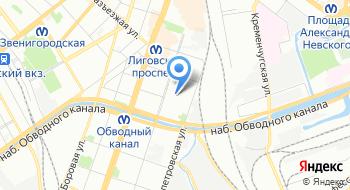 Инспекция комитета по образованию города Санкт-Петербурга на карте