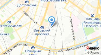 Удостоверяющий центр Санкт-Петербургского государственного унитарного предприятия Санкт-Петербургский информационно - аналитический центр на карте