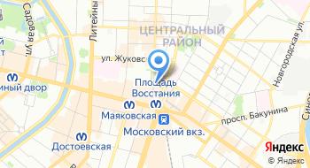 Полиграфическая фирма Aмекс на карте
