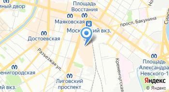 Курьерская служба Бегунов-Курьер на карте