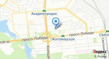 Украинский центр профессионального развития на карте