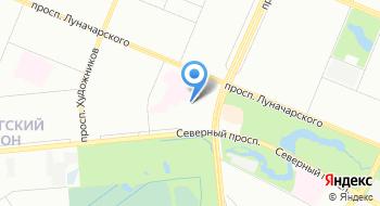 Клинический госпиталь Фкуз МСЧ МВД России по Санкт-Петербургу и Ленинградской области на карте