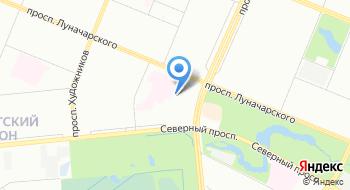 Клиническая больница № 122 на карте