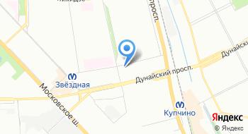 Компания Петрострой на карте