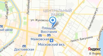 АСС Аварийно-спасательная слуба Петербурггазхимспас на карте