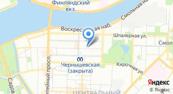 Санкт-Петербургская Торгово-промышленная палата на карте