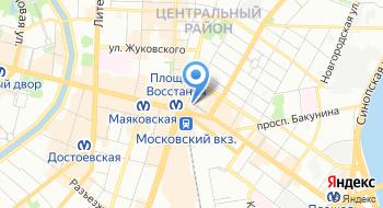 Cанкт-Петербургский институт независимой экспертизы и оценки на карте