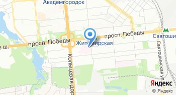 Государственное учреждение Национальный научный центр радиационной медицины Национальной академии медицинских наук Украины на карте