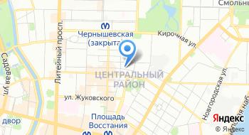 Пейнтбольный клуб FairPlay, офис на карте