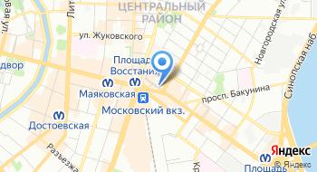 Центр специальных коммуникаций на карте