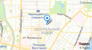 УК Сити на карте