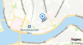 Санкт-Петербургская школа визуальных искусств на карте