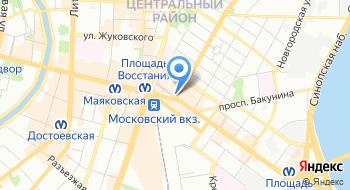 Хостел Компас на карте