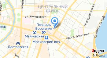 Студия Ералаш Санкт-Петербург на карте