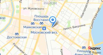 Центр содействия на карте
