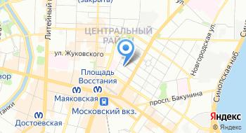 Управление ветеринарии Правительства Санкт-Петербурга на карте