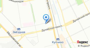 Автобусная станция Звёздная на карте