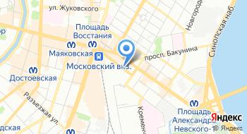 СПБ ГБУ Горжилобмен Райжилобмен Центрального района на карте