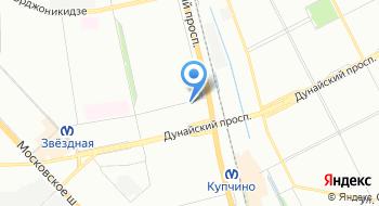 ГУП Горэлектротранс Конечная станция 45 и 24 троллейбусов на карте