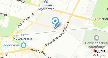 Автоателье TopTint на карте