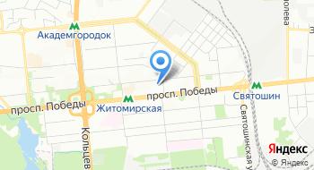 ГП Всеукраинский государственный научно-производственный центр стандартизации, метрологии, сертификации и защиты прав потребителей Укрметртестстандарт на карте