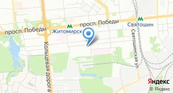 Святошинский детский дом-интернат на карте