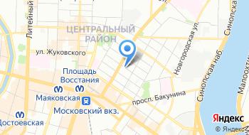 Крисберг на карте