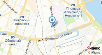 ГБУ Комплексный центр социального обслуживания населения Центрального района Санкт-Петербурга Дом ночного пребывания на карте