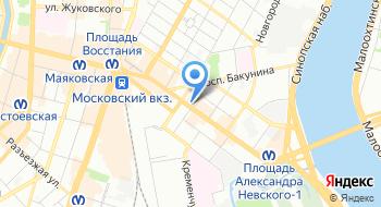 Детективное агентство Легион на карте
