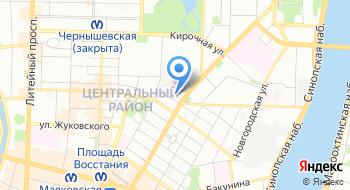Гранит-Электрон на карте