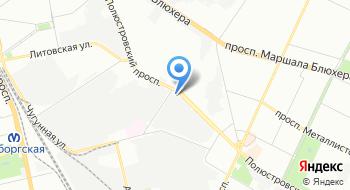 Невская лаборатория на карте