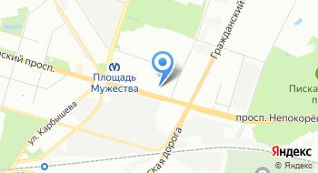 Спортивный комплекс Красный Октябрь на карте